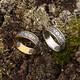 """Серебряное кольцо """"Спаси и сохрани"""" с позолотой KLSP01"""