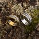 """Православное женское кольцо с молитвой """"Спаси и сохрани"""" (серебряное) KLS04"""