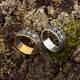 Кольцо с молитвой за Родных и ближних (серебряное) KLS07