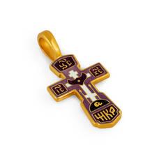 Крест нательный с эмалью - Голгофский KRSPE0103