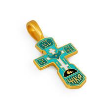 Крест нательный с эмалью - Голгофский KRSPE0107