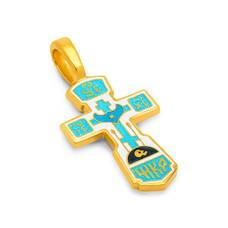 Крест нательный с эмалью - Голгофский KRSPE0108