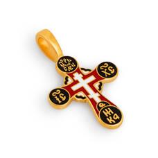 Крест нательный с эмалью - Голгофский KRSPE0504