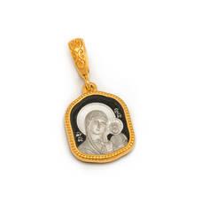 Иконка нательная серебряная PISP03