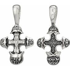 Православный крест - Распятие Иисуса христа с молитвой ко Кресту (арт. 21111-131)