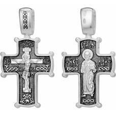 Православный крест: Распятие Иисуса Христа, Николай Мирликийский (арт. 21111-16)