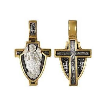Православный крест - Ангел Хранитель с молитвой (арт. 21112-164)