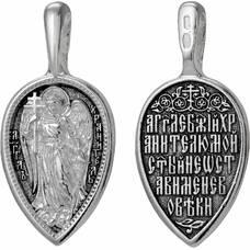 Нательная икона (образок) Ангел Хранитель с молитвой (арт. 21211-15)