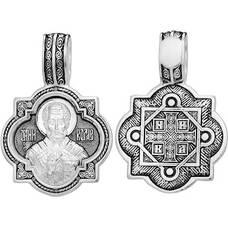 Нательная икона (образок) Николай Чудотворец (арт. 21211-57)