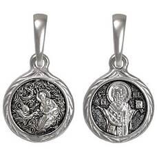Нательная икона (образок) Николай Чудотворец (арт. 21211-75)