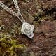 Ладанка нательная из серебра с Распятием (арт. 21311-2)