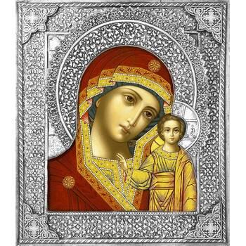 Казанская икона Божией матери в ризе (арт. 1224010)