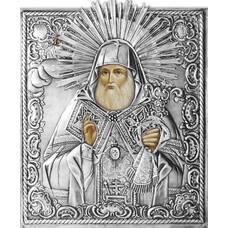 Икона Митрофан Воронежский в ризе (арт. 12240100)