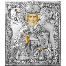 Икона Николай чудотворец Мирликийский в ризе (арт. 12240101)