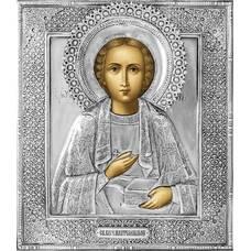 Икона Пантелеимон целитель в ризе (арт. 12240109)