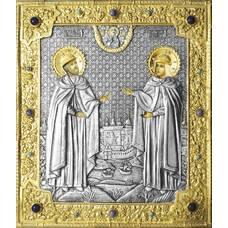 Икона Петр и Феврония в ризе (арт. 12240111)