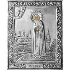 Икона Серафим Саровский в ризе (арт. 12240115)