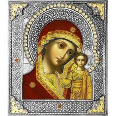 Казанская икона Божией матери в ризе (арт. 1224012)