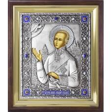 Икона Феодор Ушаков в ризе и деревянном киоте (арт. 12240120)