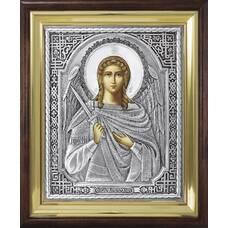 Икона Ангела Хранителя в ризе и киоте (арт. 12240122)