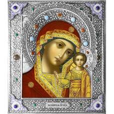 Казанская икона Божией матери в ризе (арт. 1224013)