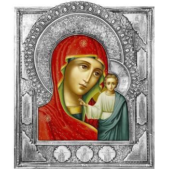 Казанская икона Божией матери в ризе (арт. 1224015)