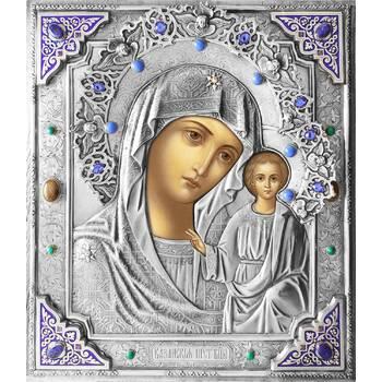 Казанская икона Божией матери в ризе (арт. 1224018)