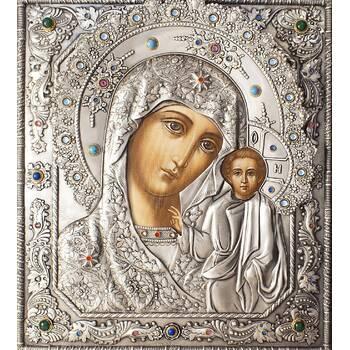Казанская икона Божией матери в ризе (арт. 1224019)