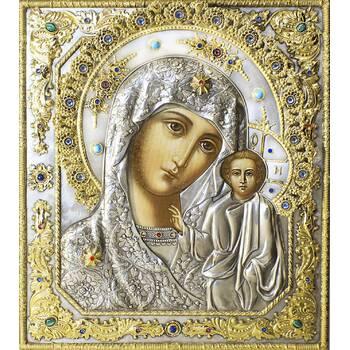 Казанская икона Божией матери в ризе (арт. 1224020)