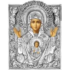 Икона Божией Матери Знамение в ризе 1224027
