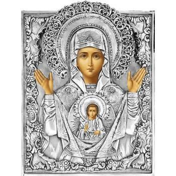 Икона Божией Матери Знамение в ризе (арт. 1224027)