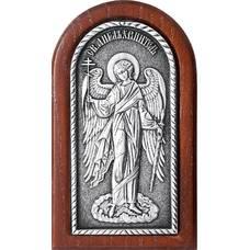 Икона Ангела Хранителя в серебре и деревянной рамке (арт. 12240270)