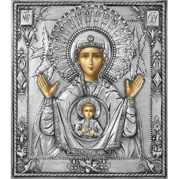 Икона Божией Матери Знамение в ризе (арт. 1224028)