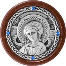 Икона в машину с образом Ангела Хранителя в серебре 12240280