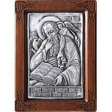 Икона Иоанн Богослов в серебре и деревянной рамки (арт. 12240340)