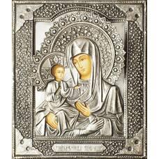 Икона Божией Матери троеручица в ризе (арт. 1224036)