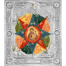 Икона Божией Матери Неопалимая Купина в ризе 1224039