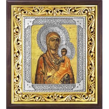 Торопецкая икона Божией Матери в ризе и деревянном киоте (арт. 1224047)