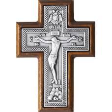 Крест в машину в сербре и рамки из ясеня (арт. 12240493)