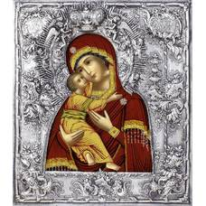 Владимирская икона Божией матери в ризе 122405
