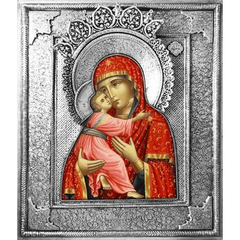 Владимирская икона Божией матери в ризе (арт. 122406)