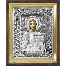 Икона Господь Вседержитель в ризе и деревянном киоте (арт. 1224061)