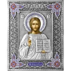 Икона Господь Вседержитель в ризе с эмалью (арт. 1224062)