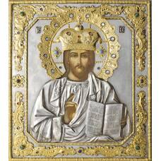Икона Господь Вседержитель в ризе с позолотой 1224068