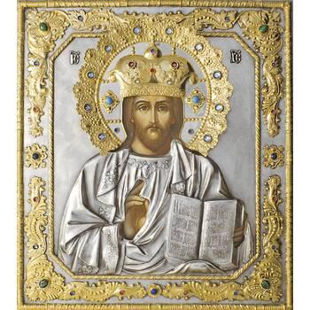 Икона Господь Вседержитель в ризе с позолотой (арт. 1224068)