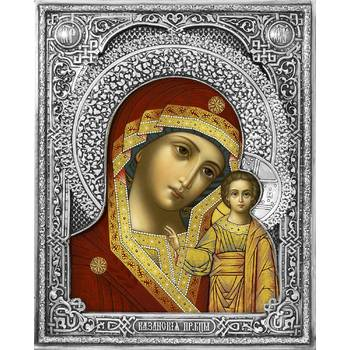 Казанская икона Божией матери в ризе (арт. 122407)