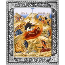 Икона Рождество Христово в ризе (арт. 1224082)