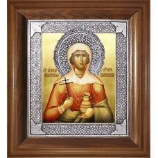 Икона Анастасии Узорешительницы в ризе и деревянном киоте (арт. 1224086)