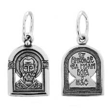 Подвеска «Николай Чудотворец» серебряная Ag 925 (арт. 13121-653)
