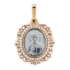 Подвеска серебро Ag 925 «Николай Чудотворец» (арт. 13122-319)